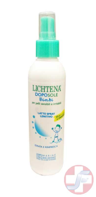 LICHTENA SOLE BIMBI LATTE SPRAY LENITIVO DOPOSOLE - 175 ML - Farmajet