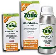 ENERZONA® OMEGA 3 RX-ENERZONA- 2 conf. da 120 capsule da 1 gr.