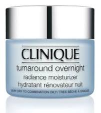 CLINIQUE TURNAROUND OVERNIGHT RADIANCE MOISTURIZER CREMA IDRATANTE NOTTE 50 ml