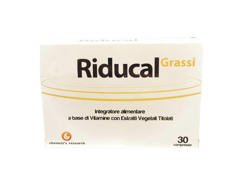 RIDUCAL GRASSI 30 COMPRESSE + 30 IN OMAGGIO
