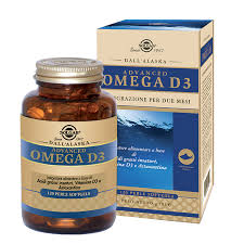 SOLGAR ADVANCED OMEGA D3 120 PERLE