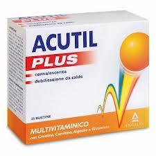 ACUTIL MULTIVITAMINICO PLUS INTEGRATORE ALIMENTARE - 20 BUSTINE DA 6 GR