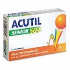 ACUTIL MULTIVITAMINICO SENIOR 50+ - 24 COMPRESSE