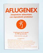 AFLUGENEX INTEGRATORE BROMATECH 12 CAPSULE