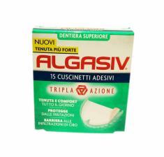 ALGASIV 15 Cuscinetti Adesivi DENTIERA SUPERIORE