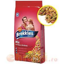 BREKKIES DOG MIX MANZO GR.4000 - 4 CONFEZIONI