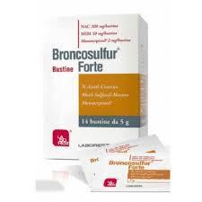 BRONCOSULFUR FORTE 14 BUSTE DA 5 G