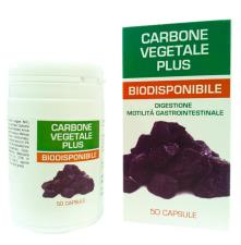 CARBONE VEGETALE PLUS BIODISPONIBILE 50 CAPSULE DA 500 MG