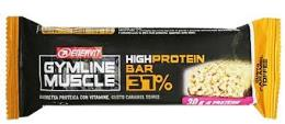 ENERVIT GYMLINE MUSCLE HIGH PROTEIN BAR 37% GUSTO CARAMEL TOFFEE 80 G
