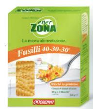 ENERZONA FUSILLI 40-30-30 - A BASE DI SEMOLA DI GRANO DURO - 240 G