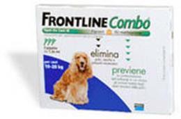 FRONTLINE COMBO SPOT ON CANI 10-20 KG 3 PIPETTE DA 1,34 ML