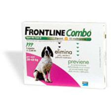 FRONTLINE COMBO SPOT ON CANI 20-40 KG 3 PIPETTE DA 2,68 ML