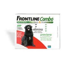 FRONTLINE COMBO SPOT ON CANI OLTRE 40 KG 3 PIPETTE DA 4,02 ML