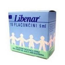 LIBENAR SOLUZIONE FISIOLOGICA 15 FLACONCINI DA 5 ML