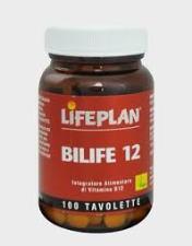 LIFEPLAN BILIFE 12 INTEGRATORE DI VITAMINA B12 - 100 TAVOLETTE