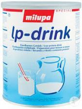 MILUPA LP DRINK INTEGRATORE ALIMENTARE SOSTITUTO DEL LATTE - 400 G