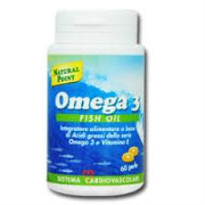 NATURAL POINT OMEGA 3 FISH OIL - 60 PERLE