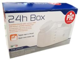 PIC SOLUTION 24h BOX CONTENITORE PER URINE 24h 2500 ML