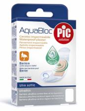 PIC SOLUTION AQUABLOC - CEROTTO POST OPERATORIO IMPERMEABILE - 5 PEZZI DA 5 x 7 CM