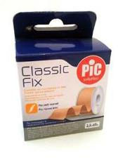 PIC SOLUTION CLASSIC FIX - CEROTTO SU ROCCHETTO IN TELA - 2,5 CM x 5 M