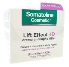 SOMATOLINE COSMETIC LIFT EFFECT 4D CREMA ANTIRUGHE FILLER 50 ML