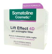 SOMATOLINE COSMETIC LIFT EFFECT 4D GEL ANTIRUGHE FILLER 50 ML