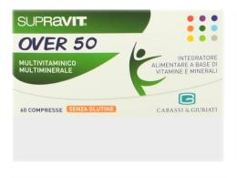 SUPRAVIT OVER 50 INTEGRATORE MULTIVITAMINICO MULTIMINERALE - 60 COMPRESSE