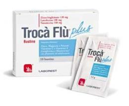 TROCA FLU PLUS 10 BUSTINE DA 3,3 G