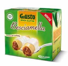 GIUSTO SENZA GLUTINE - BESCIAMELLA - 500 G