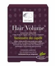 HAIR VOLUME INTEGRATORE ALIMENTARE PER IL BENESSERE DEI CAPELLI - 30 COMPRESSE - New Nordic