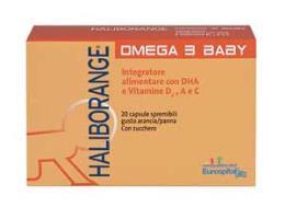HALIBORANGE OMEGA 3 BABY - 20 CAPSULE SPREMIBILI