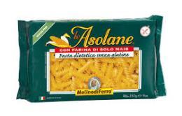 LE ASOLANE ELICHE PASTA SENZA GLUTINE CON MAIS - 250 G