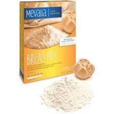 MEVALIA FARINA APROTEICA BREAD MIX - PREPARATO APROTEICO PER PANE E IMPASTI LIEVITATI - 500 G