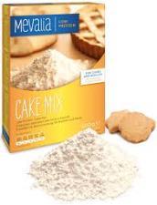 MEVALIA FARINA APROTEICA CAKE MIX - PREPARATO APROTEICO PER TORTE E BISCOTTI - 500 G