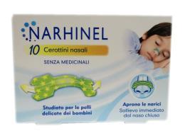 NARHINEL 10 CEROTTINI NASALI