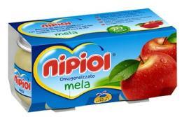 NIPIOL OMOGENEIZZATO MELA - DA 4 MESI - 2 x 80 G