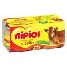 NIPIOL OMOGENEIZZATO VITELLO - DA 4 MESI - 2 x 80 G