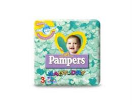 PAMPERS BABY DRY 3 - PANNOLINI MIDI 4-9 KG - 20 PANNOLINI