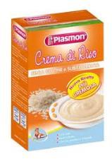 PLASMON CREMA DI CEREALI - CREMA DI RISO - DA 4 A 36 MESI - 230 G